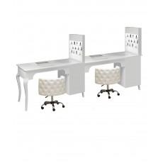 Двойной маникюрный стол 505 С