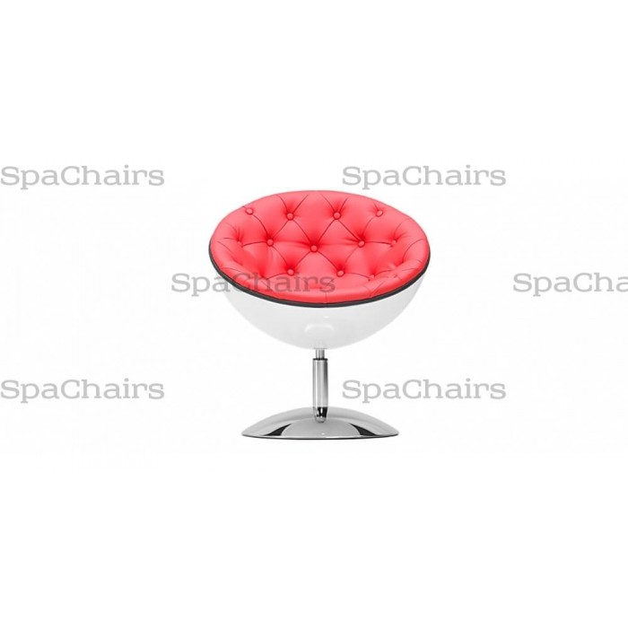 Кресло Даллас (красный/белый) С